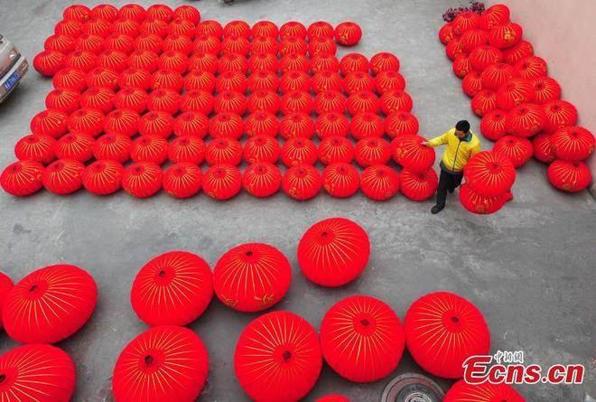 Làng đèn lồng hơn 600 năm tuổi ở Trung Quốc
