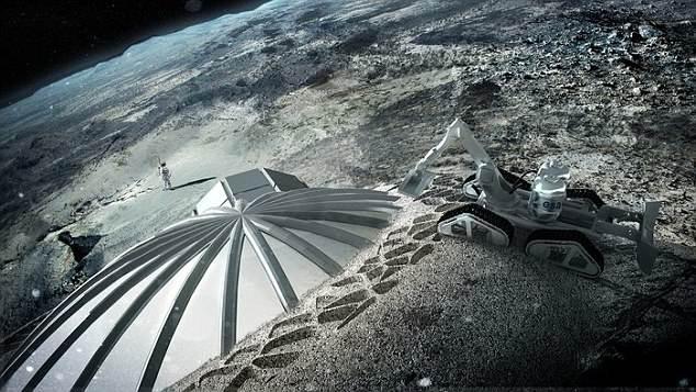 Trung Quốc tham vọng khai thác khí hiếm trên mặt trăng