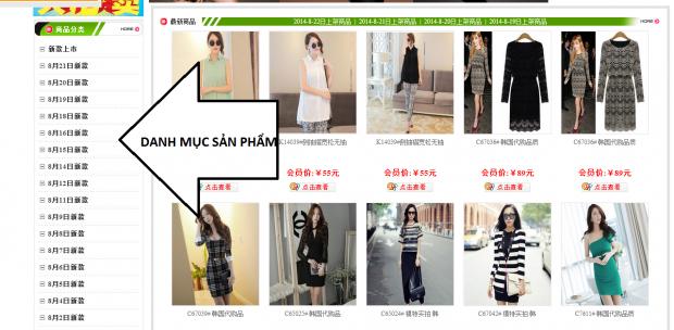 Kinh nghiệm đặt hàng online trên các website Trung Quốc