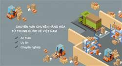 Các cách vận chuyển hàng từ Trung Quốc về Việt Nam